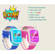 Screen touch GPS tracker 1.44 inch screen size with WIFI/LBS/GPS Location GPS tracker SOS call Kids Navigation GPS Watch