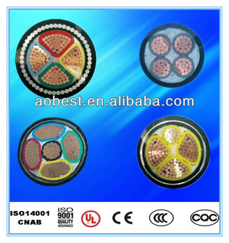 1kv to 35 kv XLPE Insulated Steel Wire Armored power cable