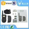 Power saving 300m remote training hightech pet collar with static shock and vibration