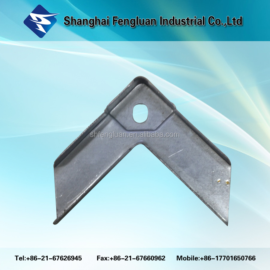 Galvanized Steel Flange Corner for Angle Joint of TDF Duct