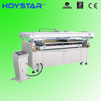 100140 big plane flatbed screen printer for glass