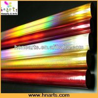 Hot Stamping Foil For Plastic Paper/ OPP/PET film laminated paper