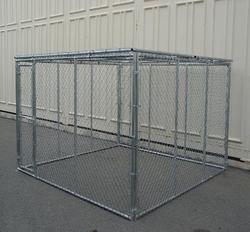 Cheap Chain Link Dog Kennels , PVC coated dog kennels, dog cages china manufacturer