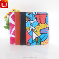 Colorful PU leather cover for ipad mini2 for kids