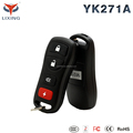 Lixing spy products one way car security alarm system with central door locking remote trunk release