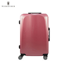 Light And Rugged Plastic Suitcase With Wheel Removable Luggage