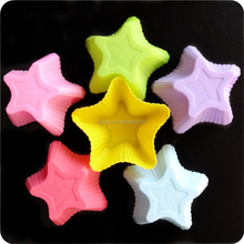 Aroma Bakeware - Silicone Cupcake pudding jelly Star Shaped Mold