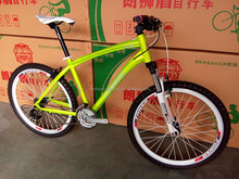 colorful 26'' aluminum alloy mountain bike 21speed bicycle road/bicycle racing road
