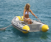 Inflatable small rafting boat for sale
