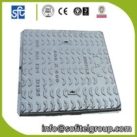 Square Cast Iron Manhole Cover On Road 60*60