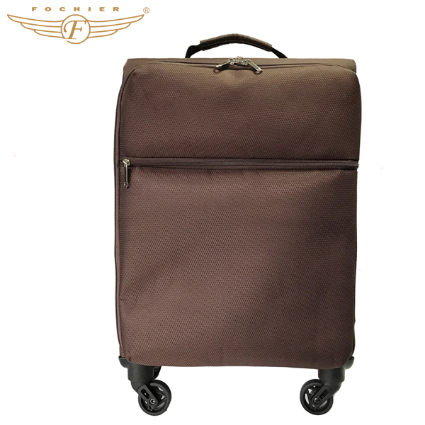 Polyester Best Lightweight Ultra Light Weight Luggage With 1.4kg
