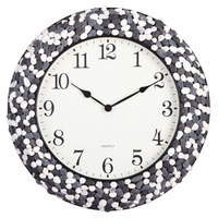 24 hour clock mdf promotional wall clock