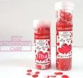 Bath confetti With mild formula that keeps skin clean and smooth