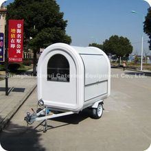 2013 Colorful Outdoor Mobile Food Kiosks with Standard Configuration for Sale XR-FC220 B