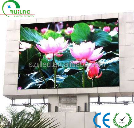 Full color video mobile/digital P12 outdoor LED display with Stable Quality Lowest Price Large Scale Production