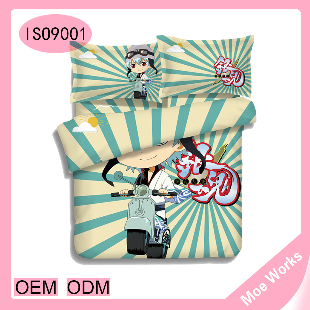 Sakata Gintoki China suppiers anime pillow covers quilted covers and bed sheets Gin Tama