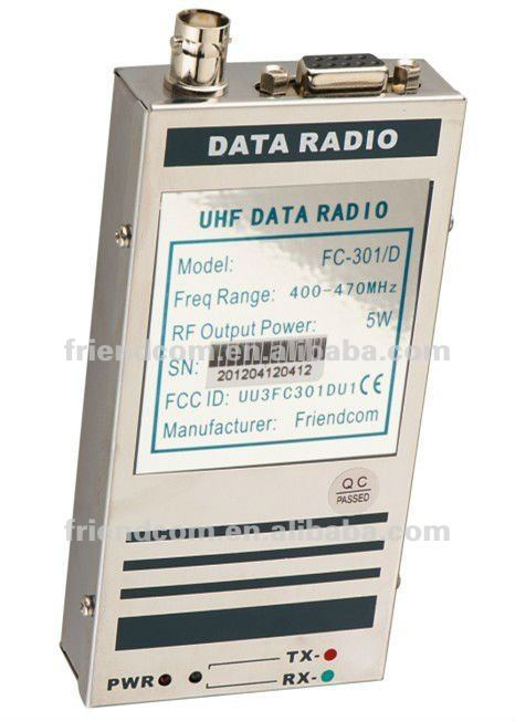 5w rf data radio modem transceiver
