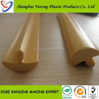 flexible plastic edge trim T-mould profiles for wood table