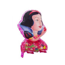 Beautiful Snow White Princess And Apple Mylar Balloon