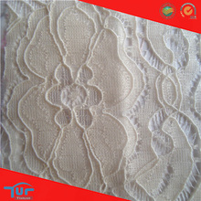 2014 Shaoxing Fashion Tulle Embroidered Lace Fabric Wedding Dresses Stocklot Lace Fabric