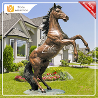 Hot Sale Bronze Outdoor Decoration Horse Statues for Sale