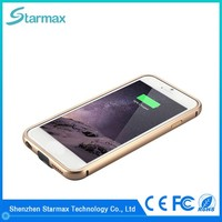 Fine texture metal frame 2400mAh new power bank for iPhone