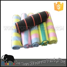 85% polyester 15% polyamide tie dye terry sport towel