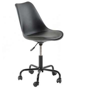 GUYOU GY-627 PU leather armless swivel PU Bar Stool With Castor