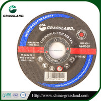 GRASSLAND Brand 100mm 4 inch Cutting Disc for Metal Stainless Steel Abrasive Metal Cutting Disc