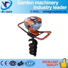heavy duty machine petrol post hole digger