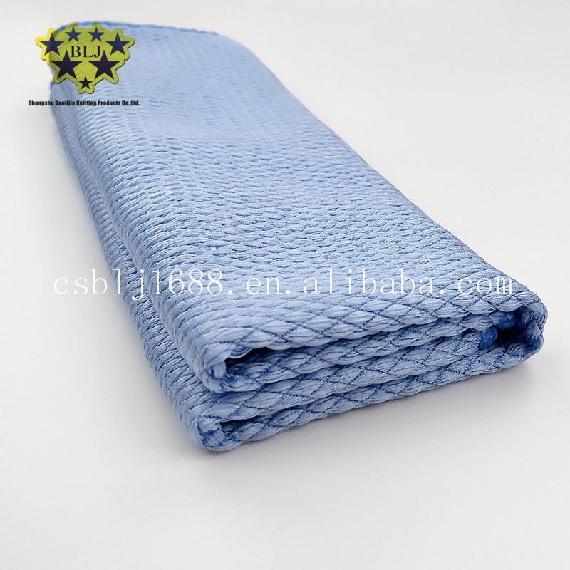 Microfiber Fish Diamond Shaped Glass Screen Cleaning Cloth