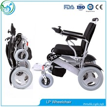 Travel worldwide freedom independent folding power wheelchair