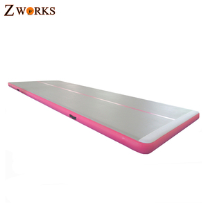 Indoor used sports equipment gym mat air tumbling mat inflatable air track for sale