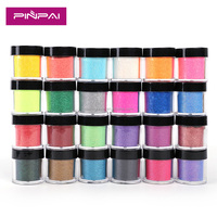 Free Sample High quality Fine Shiny Nail Glitter Powder For Nail Art Decoration