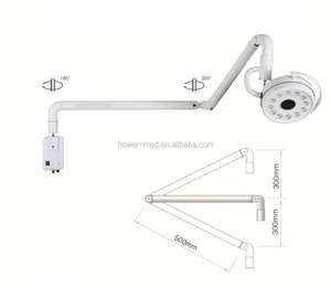 Hospital equipment CE approved led surgical hang light