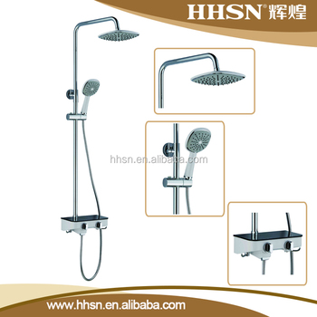 Bathroom wall mounted Concealed Bathroom Shower Faucet Set