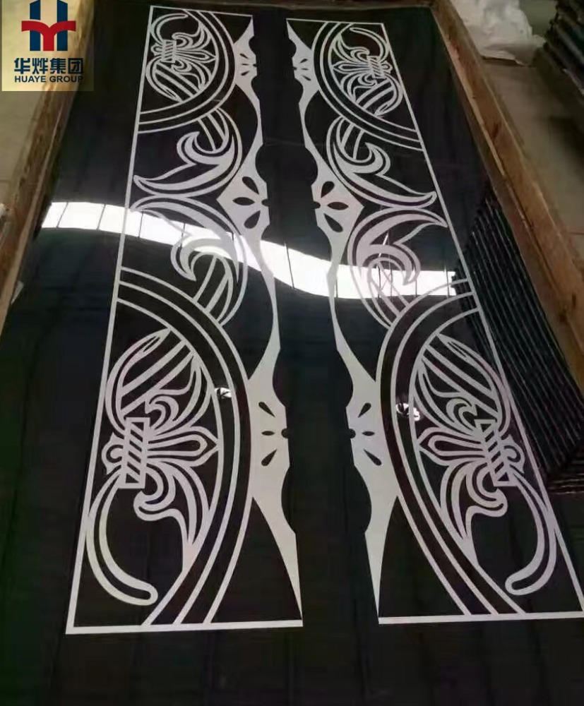 Decorative Etching Stainless Elevator Sheet Plate Panel