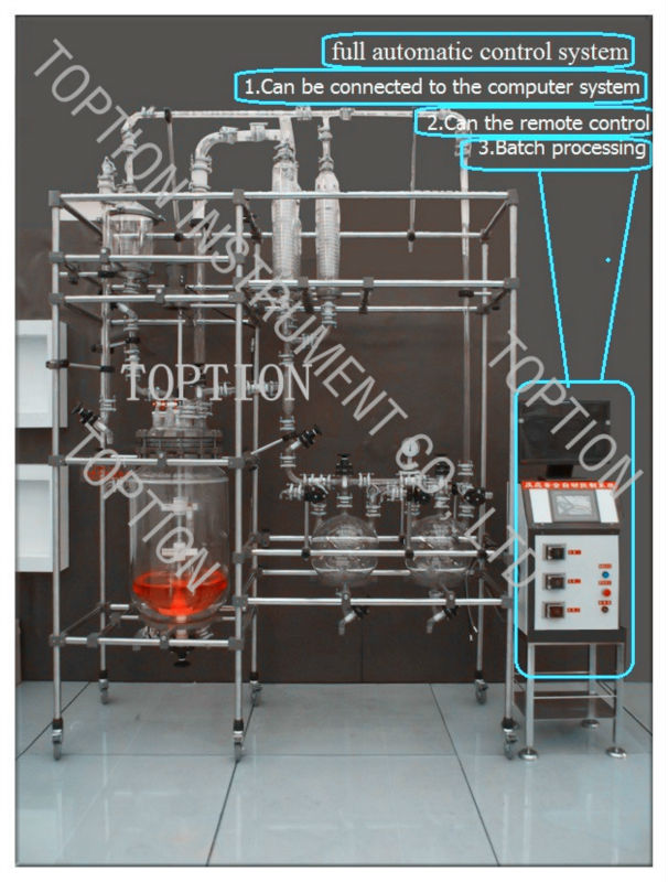 Organic Chemistry Laboratory Double Jacket Glass Reactor