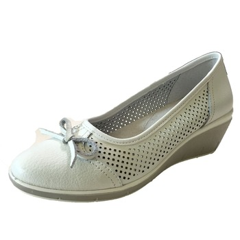Women's Casual Low Heel Leather Mary Jane Shoes Flats Shoes