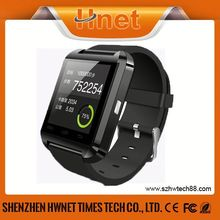 GSM bluetooth android u8 smart watch phone wifi with sim card slot