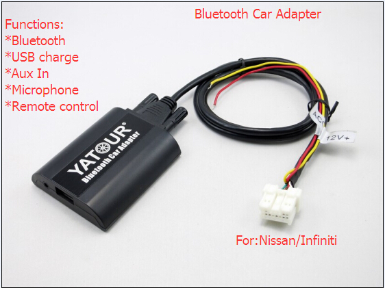 Aux in Infiniti /Nisan car bluetooth adapter
