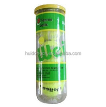High quality standard size weight wholesale 3PCS/Can tennis ball balls custom logo for training