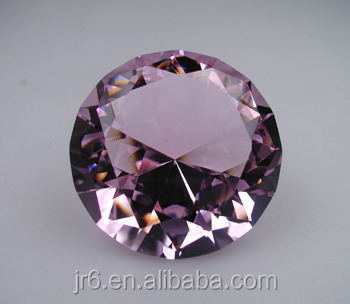 Beautiful Cheap 80mm Crystal Diamond Paperweight