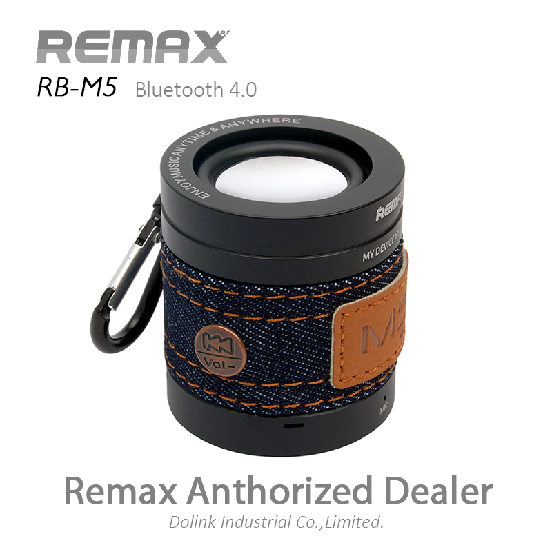 Remax Fashionable Outdoor AUX/FM Stereo Music Sound Box, Rechargeable Surround Mini Wireless Bluetooth 4.0 Subwoofer Speaker