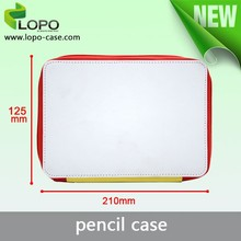 New printable blank Sublimation patterned pencil case for school children