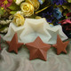 Nicole C0003 3d mini star shape jelly candy chocolate silicone molds