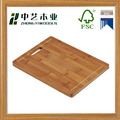 FSC natural bamboo cutting board chopping blocks chese board