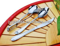 stainless steel hotel cutlery sets with 2.5mm thickness and low price