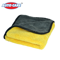 1 pack 800gsm 45cmx38cm Super Thick Plush Microfiber Car Cleaning Cloths Car Care Microfibre Wax Polishing Detailing Towels