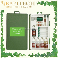 Rapitech Professional Gardening Soil pH Phosphorous Nitrogen and Potash Testing Kit Soil Test